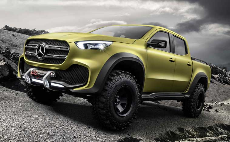 Mercedes-pick-up
