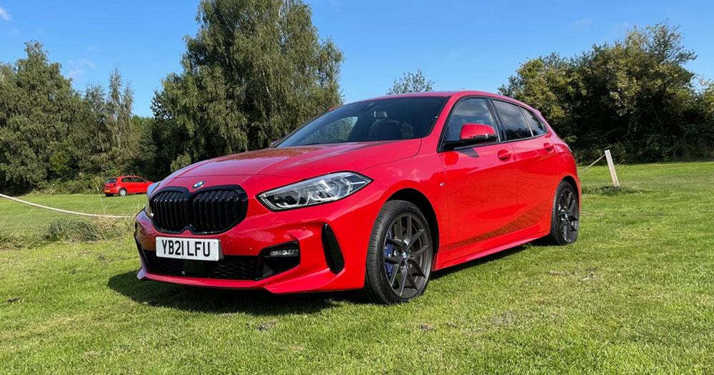 BMW 1 Series front