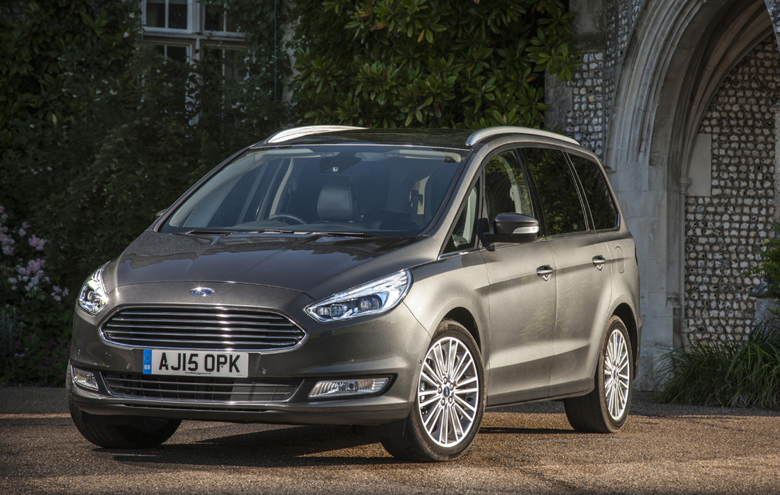 Ford Galaxy front