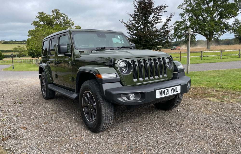 Jeep Wrangler 80th Anniversary front