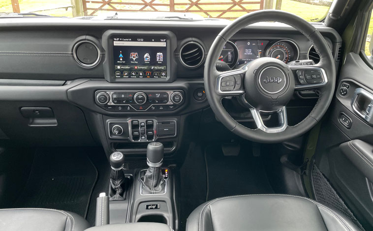Jeep Wrangler 80th Anniversary interior
