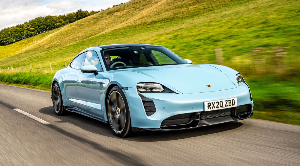 Porsche Taycan front