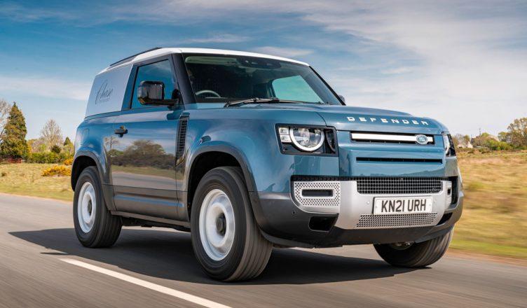 Land Rover Defender 90 Hard Top front