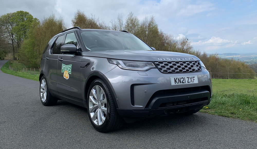 Land Rover Discovery Commercial front