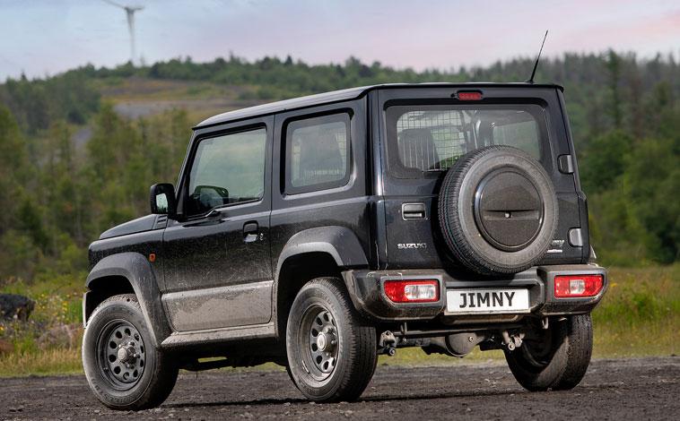 Suzuki Jimny Commercial rear
