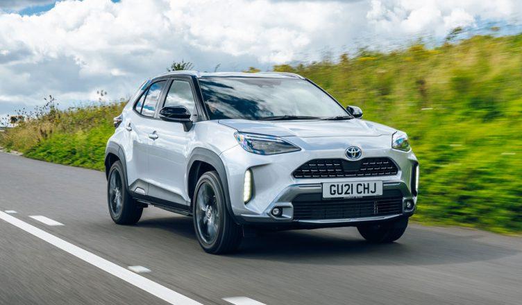Toyota Yaris Cross front