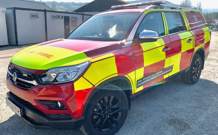 SsangYong emergency services