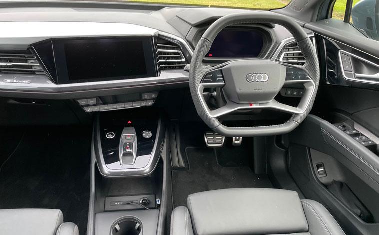 Audi Q4 Sportback e-tron interior