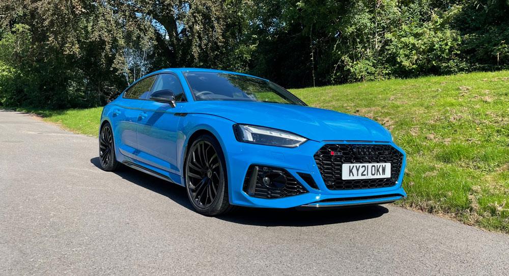 Audi RS5 Sportback front